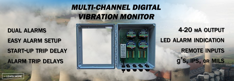 1-895M Multi Channel Digital Vibration Switch